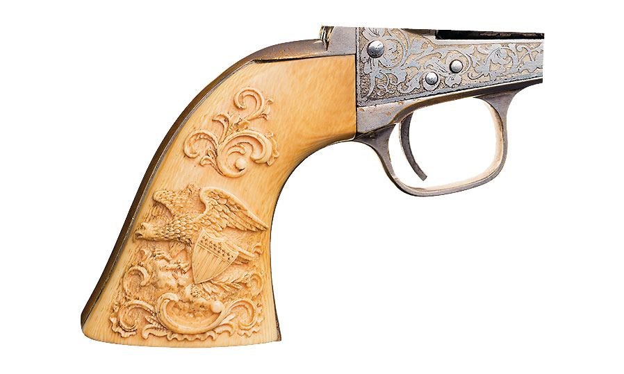 61 navy colt carved true west magazine