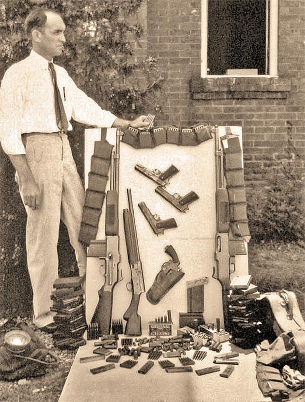 maney gault guns bonnie parker clyde barrow frank hamer true west magazine