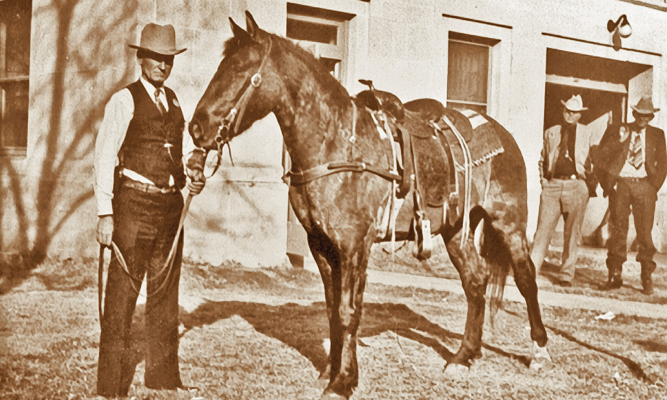 maney gun and horse true west magazine