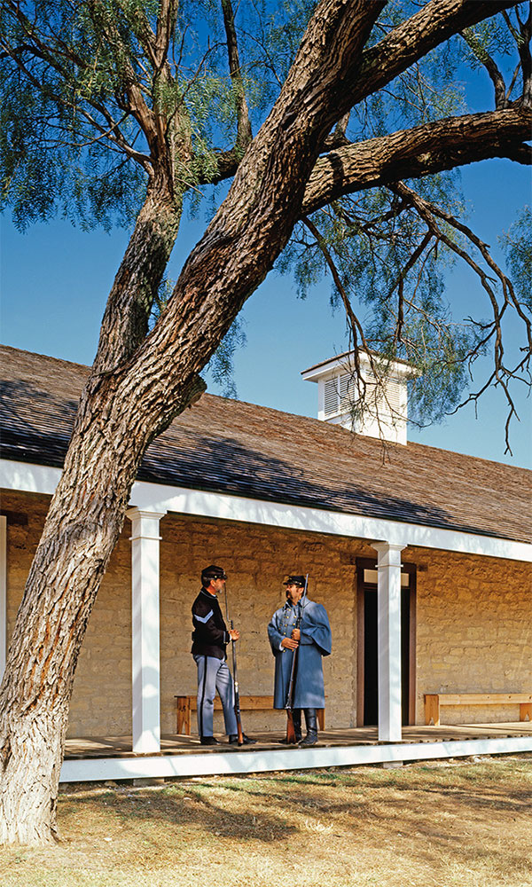 fort concho texas reenactment true west magazine