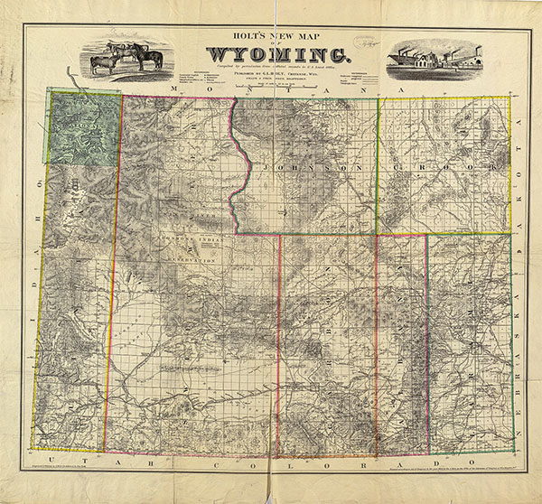 map of wyoming true west magazine