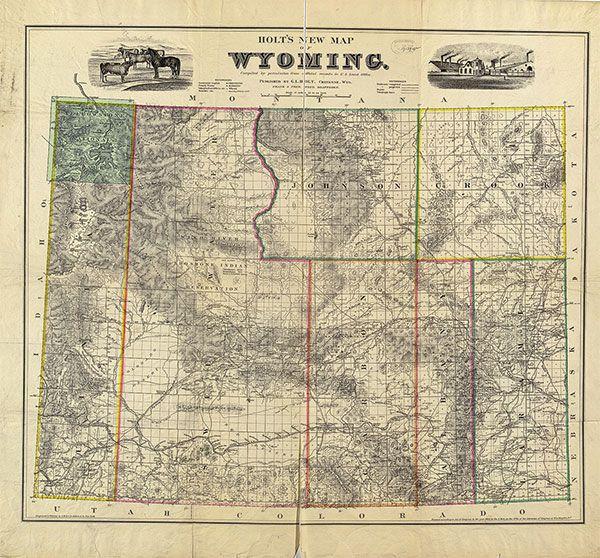 map of wyoming true west magazine