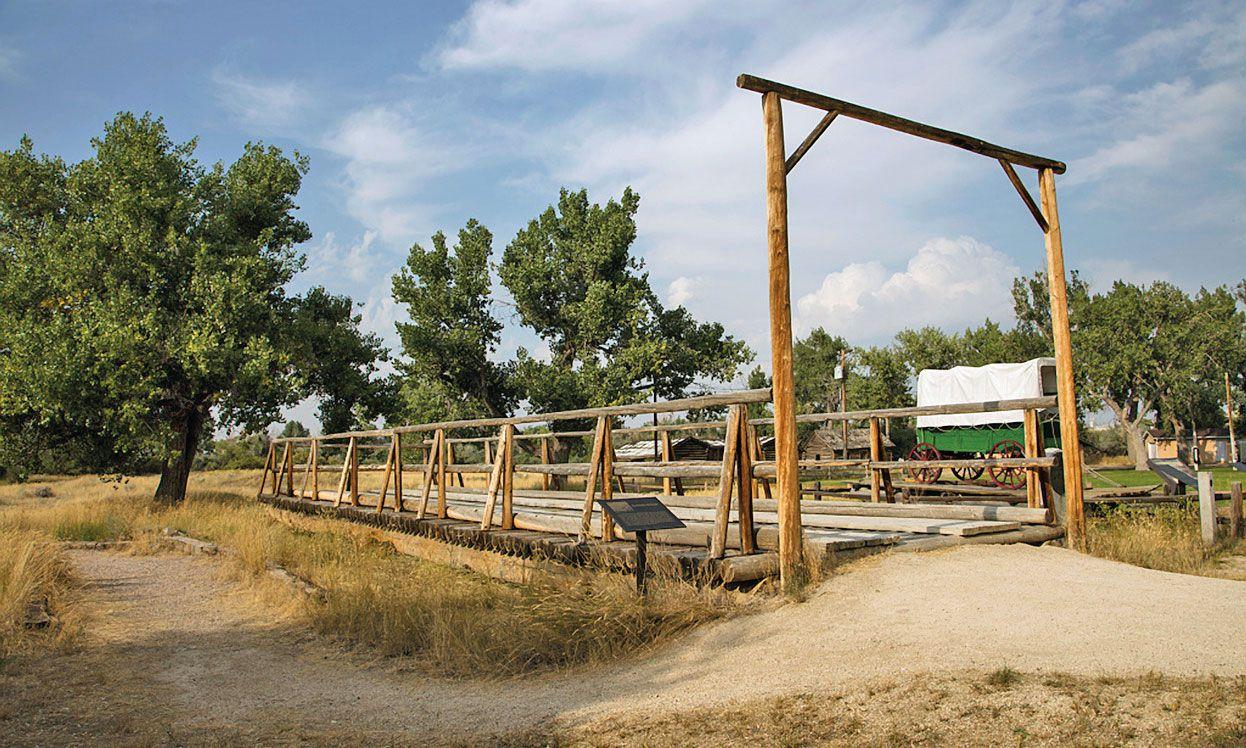 fort caspar museum wyoming fence true west magazine
