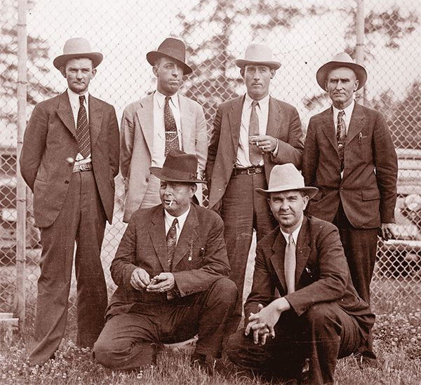 six lawmen bonnie and clyde true west magazine