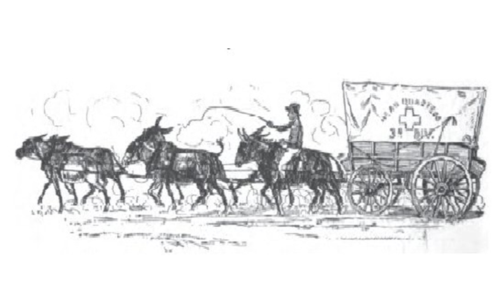 covered wagon and a six mule team true west magazine