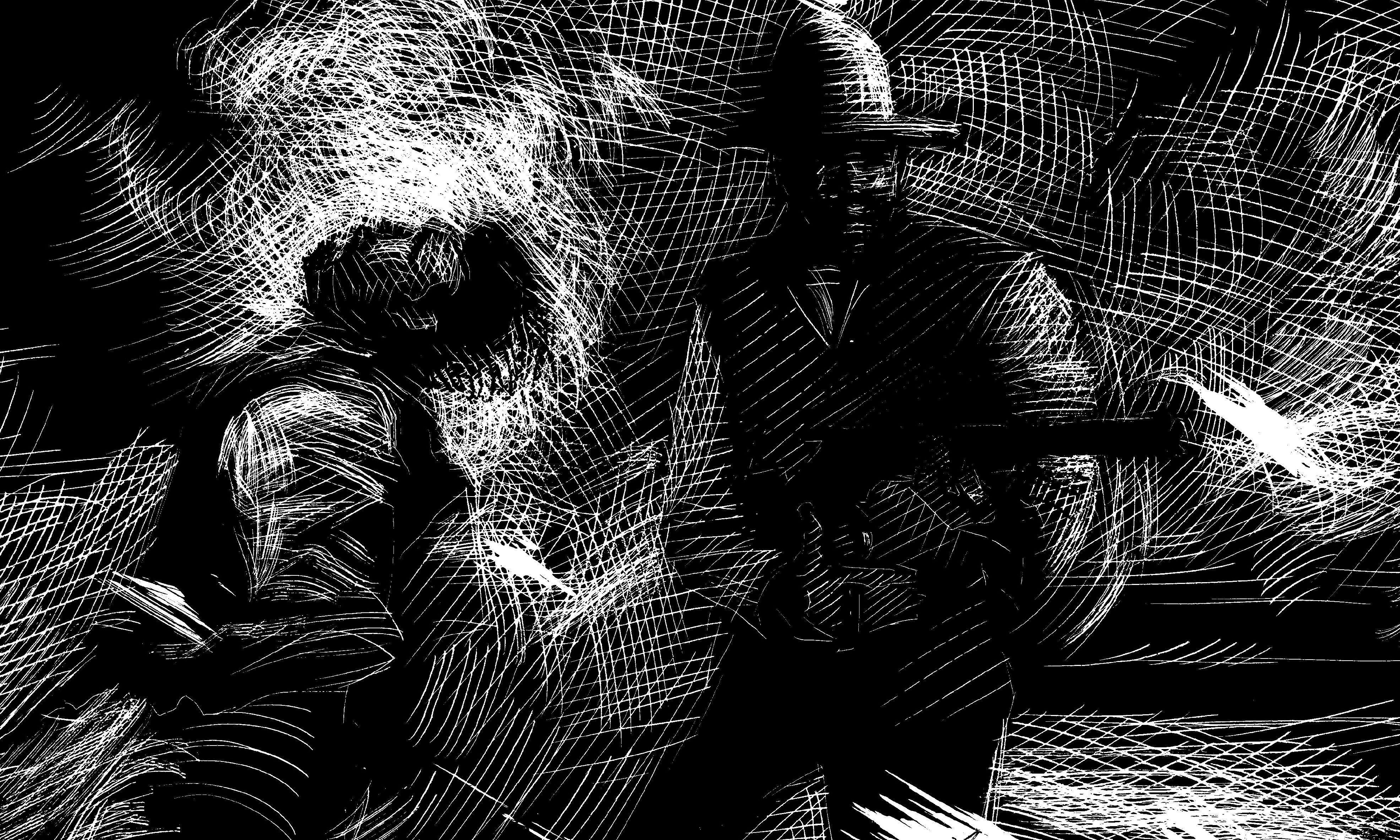 zip wyatt balck illustration by bob boze bell true west magazine