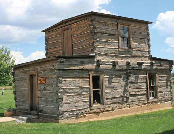 jim baker cabin true west magazine