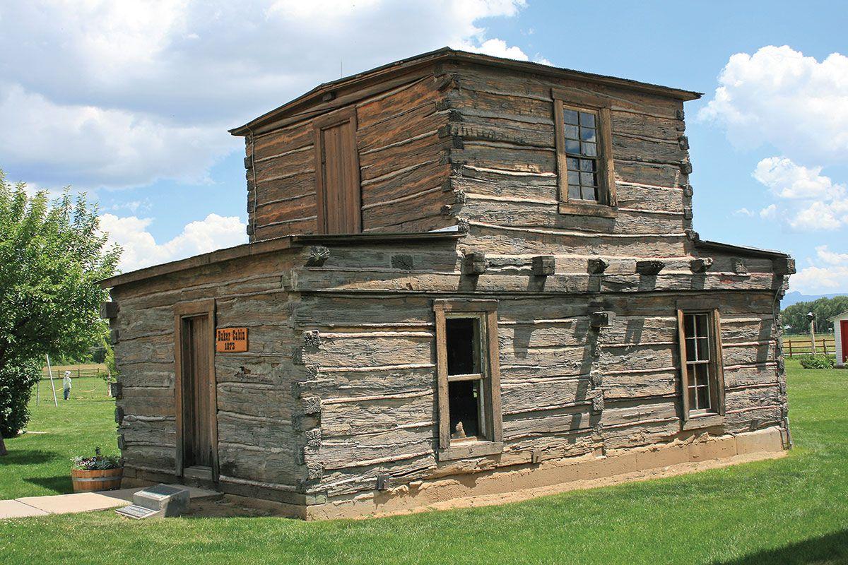 jim baker cabin true west magazine