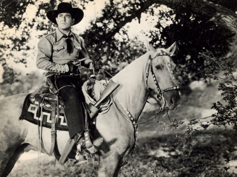johnny mack brown on a horse true west magazine
