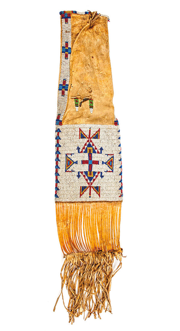 beaded native american artifact true west magazine