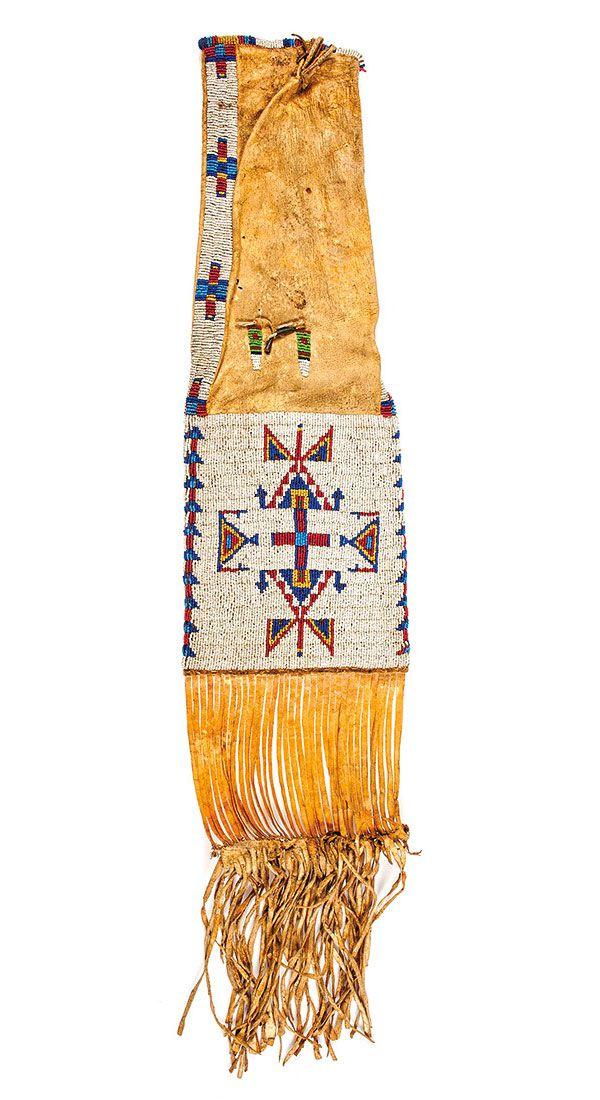 beaded native american artifact true west magazine