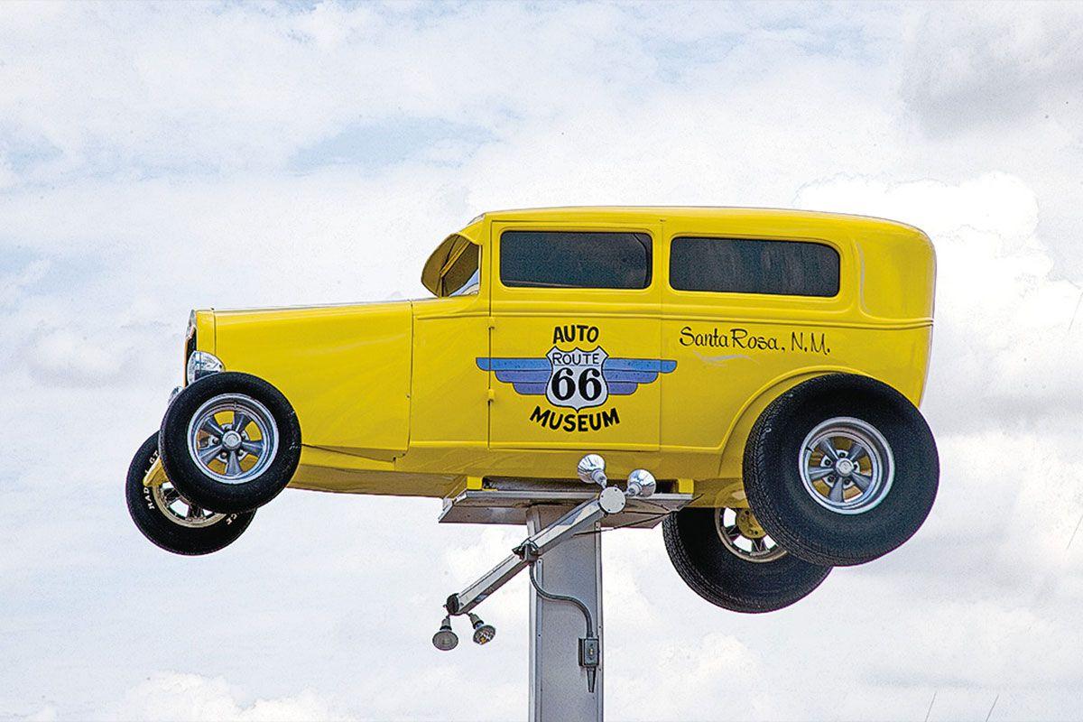 route 66 auto museum sign true west magazine