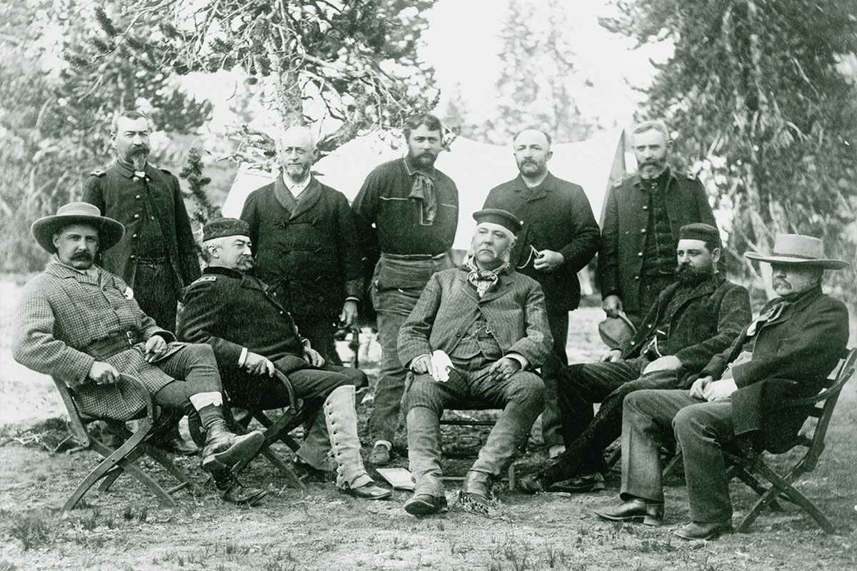 president chester a arthur and associates in yellowstone national park true west magazine
