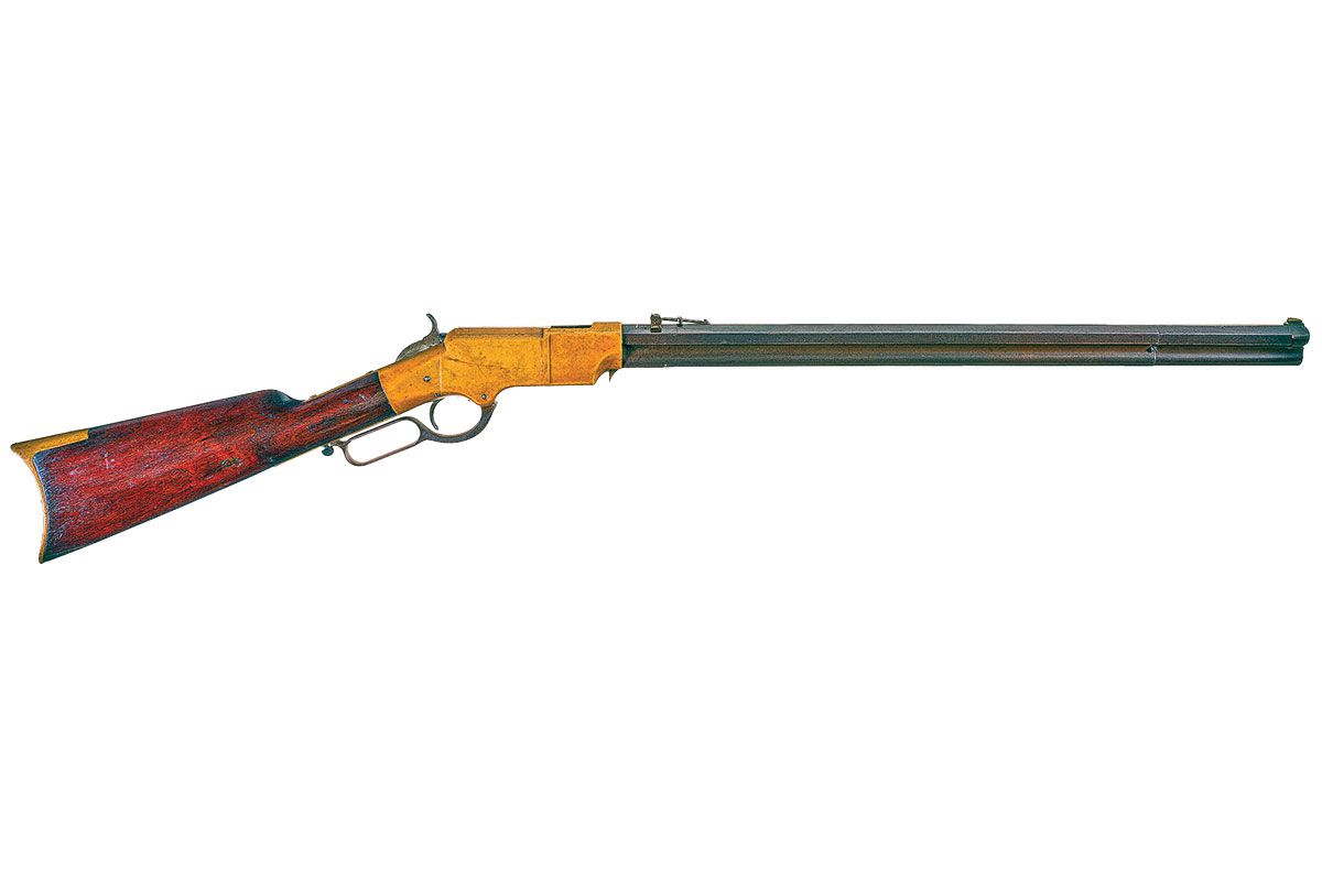 new haven arms company henry lever action rifle true west magazine