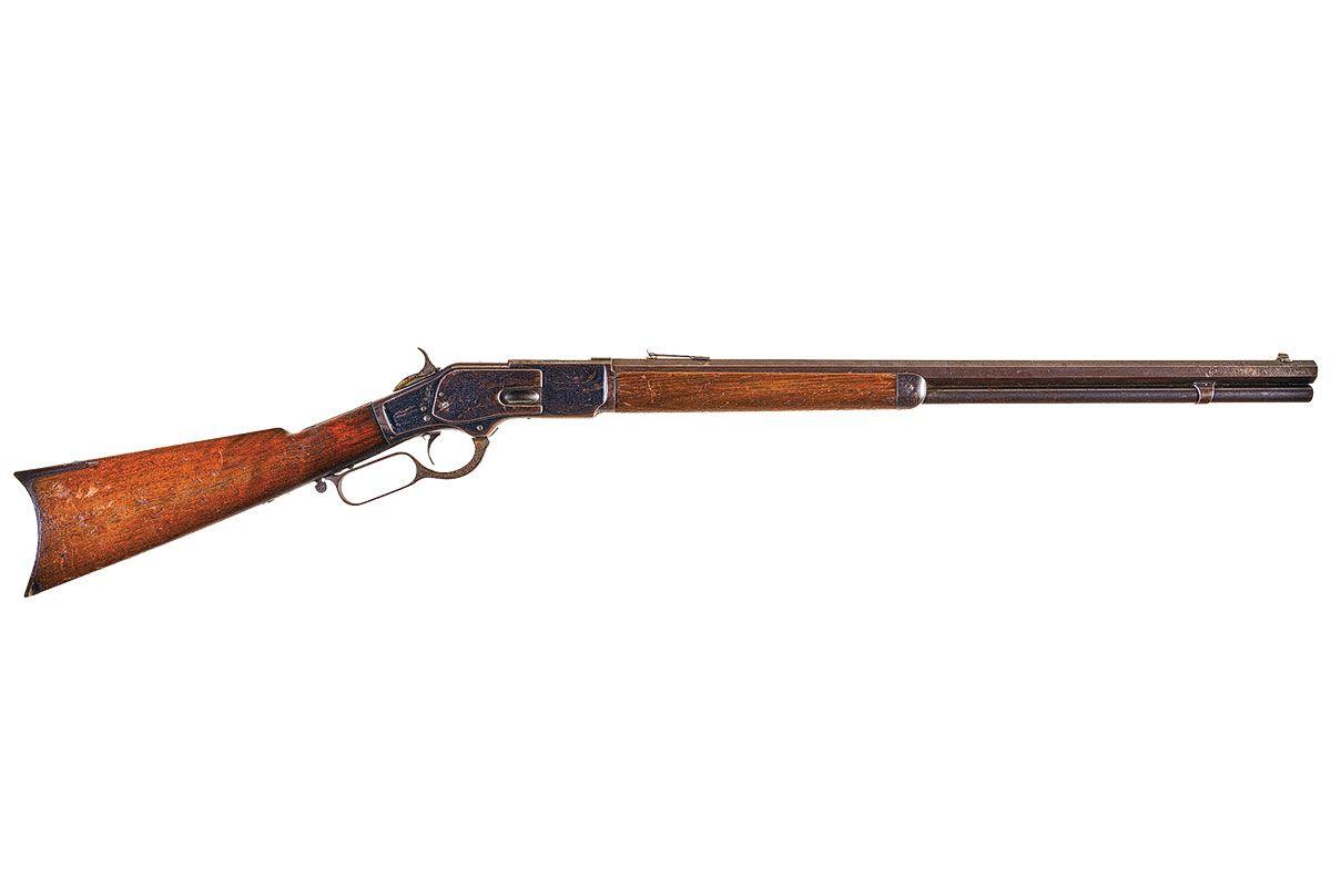 targeted winchester 73 rifle true west magazine