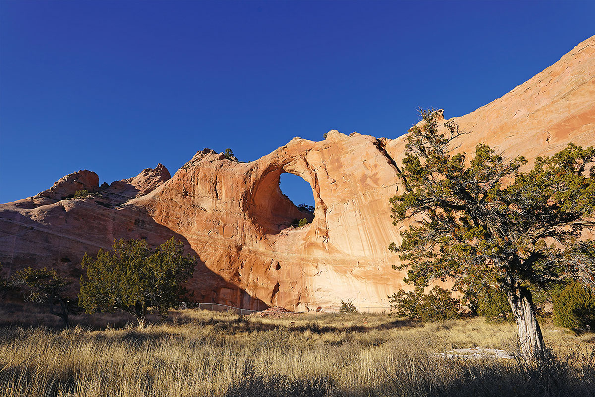 window rock and trees true west magazine