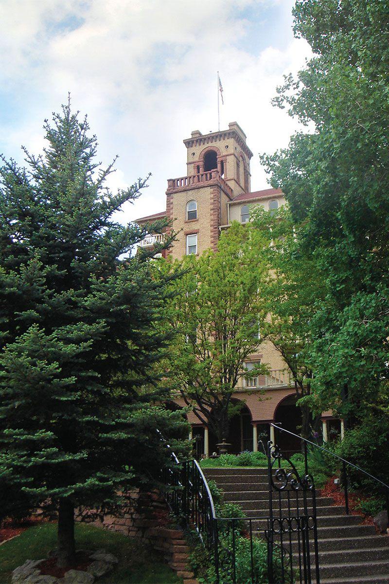hotel colorado glenwood springs true west magazine
