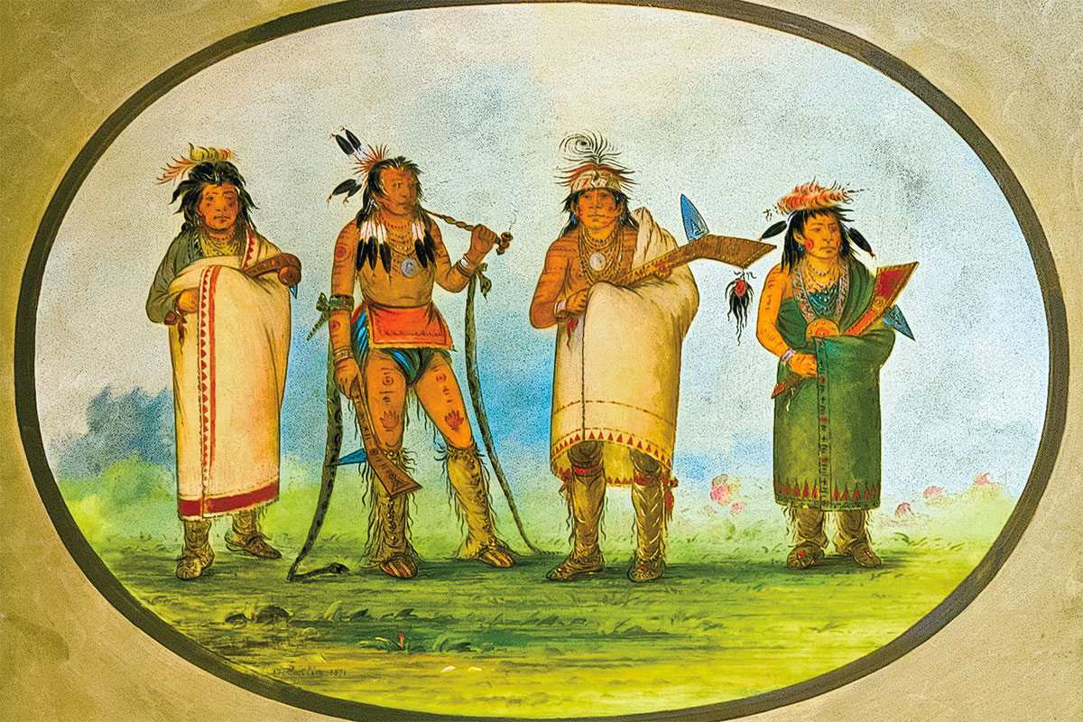 the mandan people george catlin true west magazine