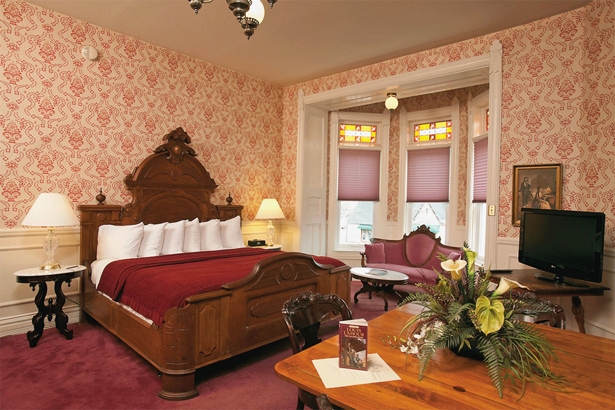 louis l'amour room strater hotel durango true west magazine