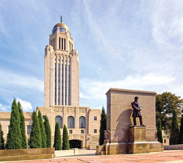 nebraska state capitol building true west magazine
