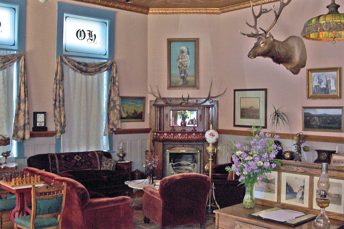 occidental hotel buffalo wyoming main street lobby true west magazine