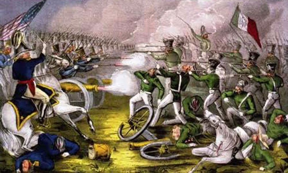san patricios in battle illustration true west magazine
