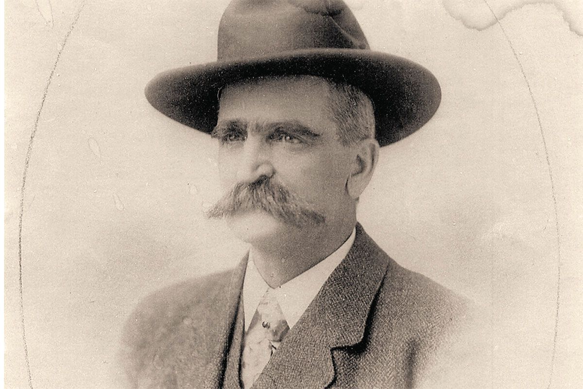 seth bullock in a hat true west magazine