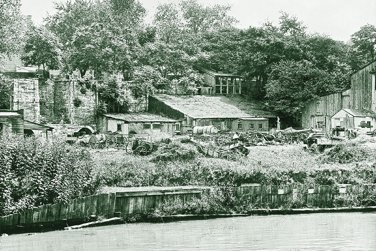 rock creek park river and houses true west magazine