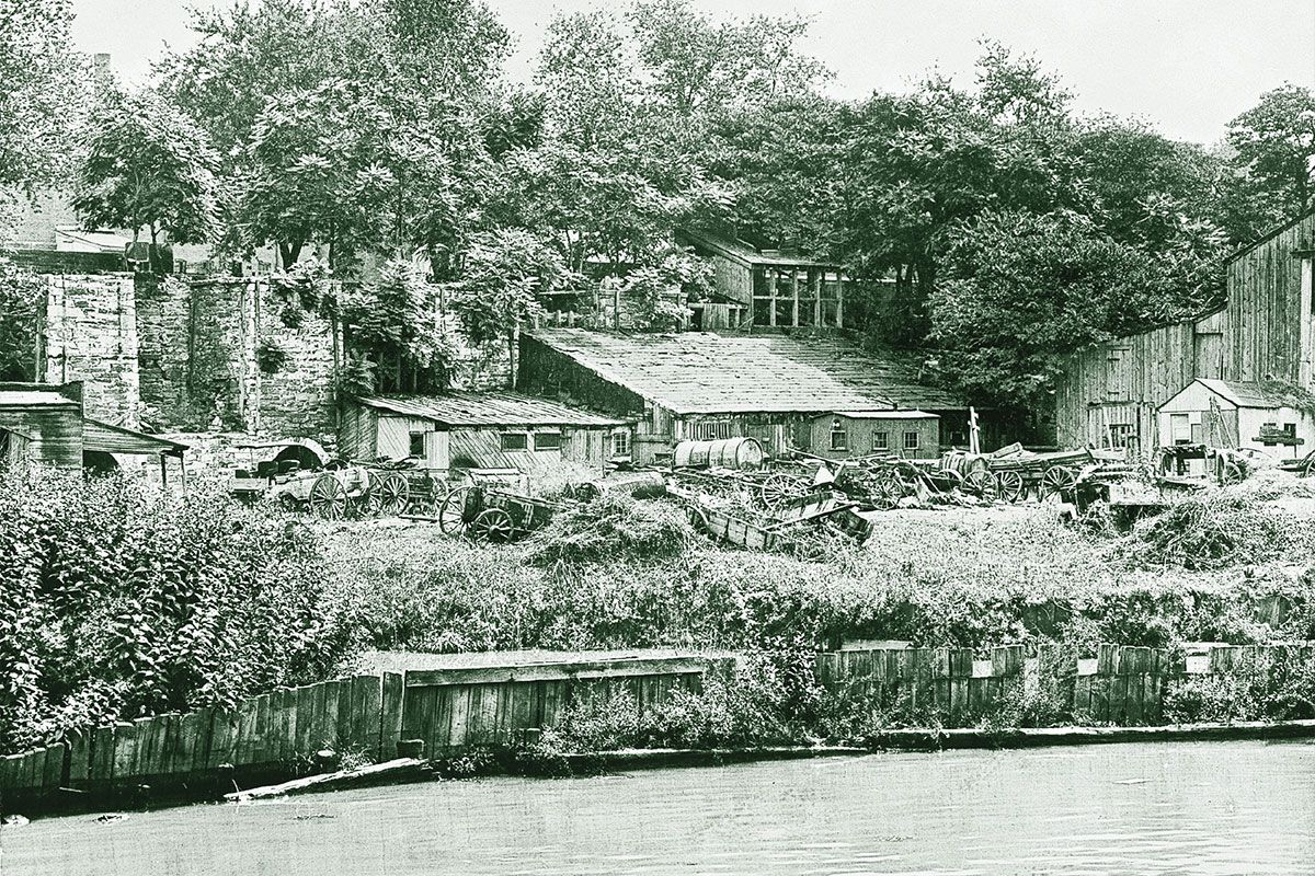 rock creek park river and houses true west magazine