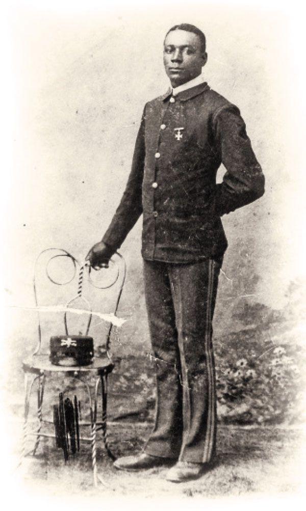 john jefferson standing with a chair true west magazine