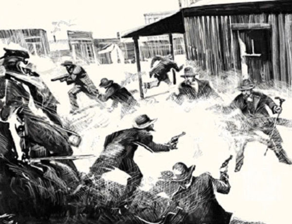 gunfight at ok corral bob boze bell true west magazine