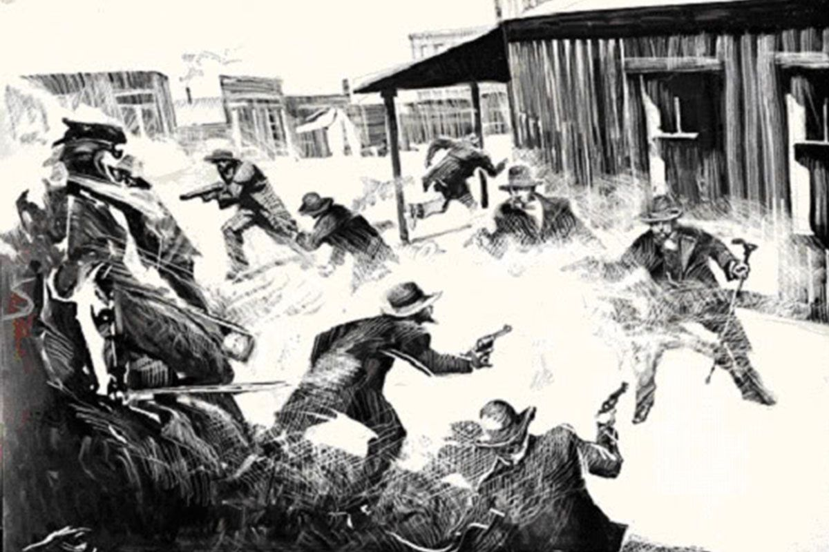 gunfight at ok corral bob boze bell true west magazine