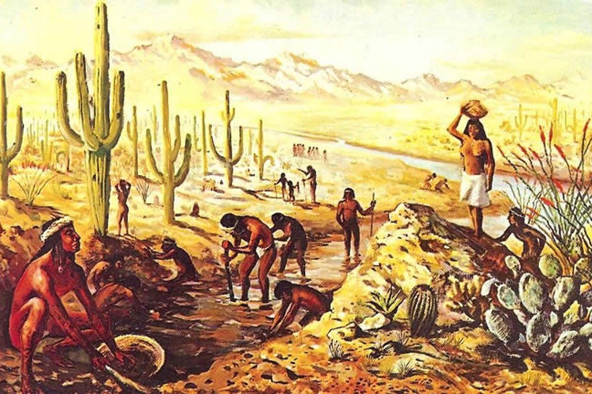 hokoham native americans illustration painting true west magazine