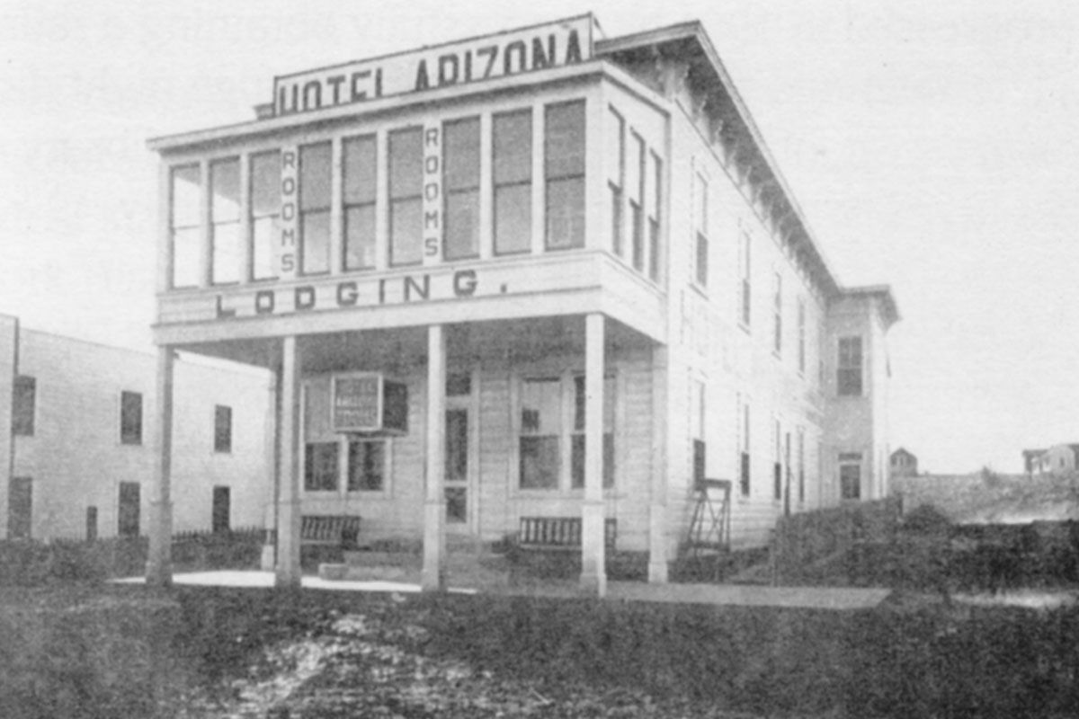 hotel arizona in ash fork true west magazine