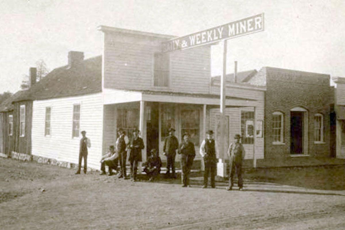 prescott daily miner newspaper office true west magazine
