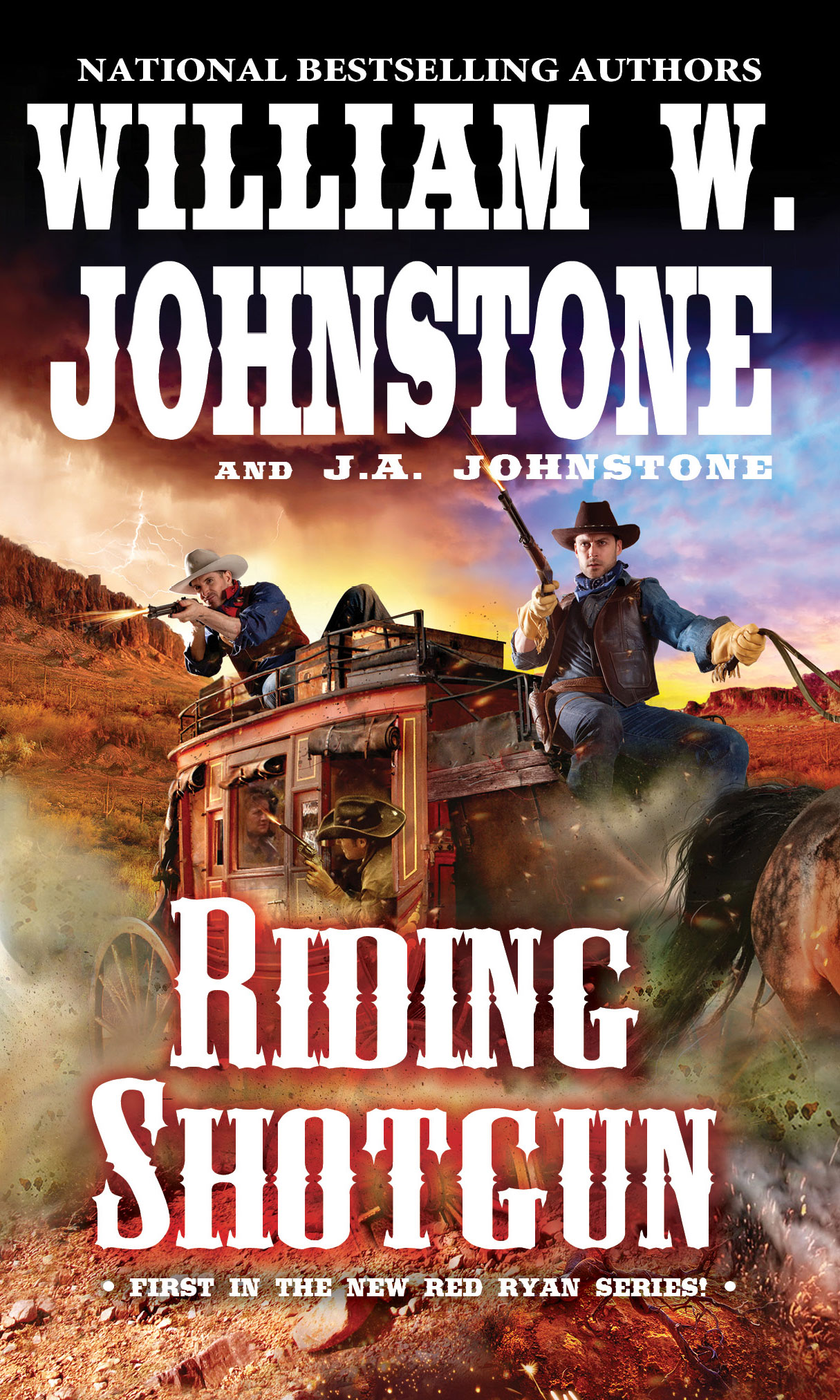 RIDING SHOTGUN by William W. Johnstone and J.A. Johnstone