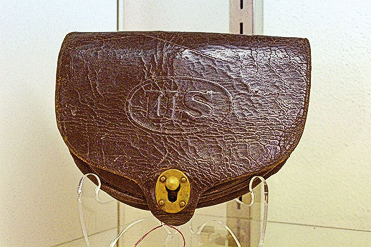 dyer cartridge pouch private andrew david us cavalry true west magazine