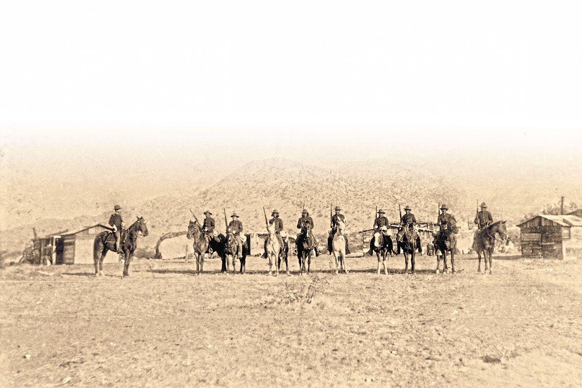 company a apache scouts fort grant arizona true west magazine