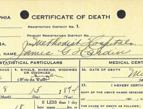 gip hardin death certificate true west magazine