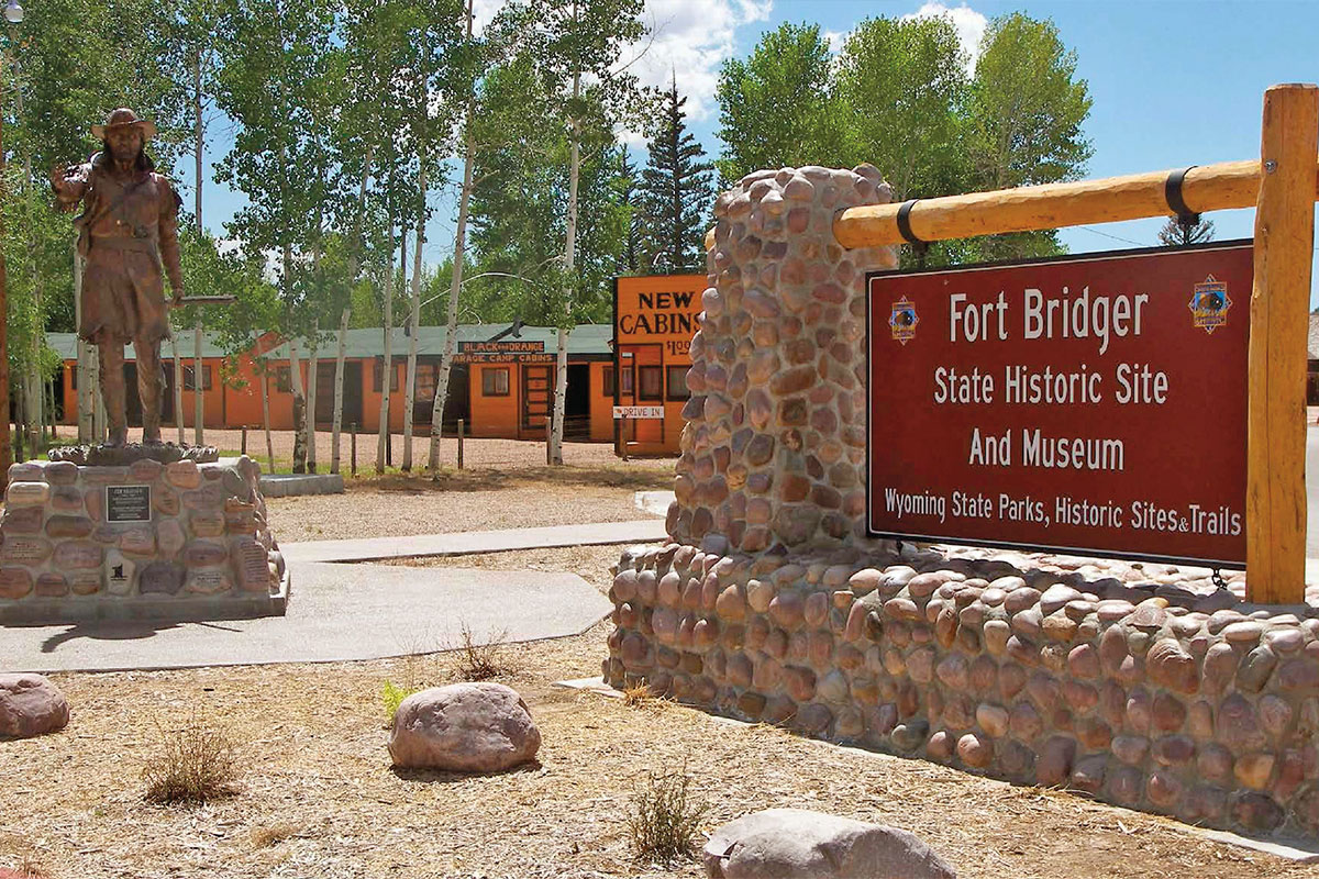 fort bridger state historic site wyoming true west magazine