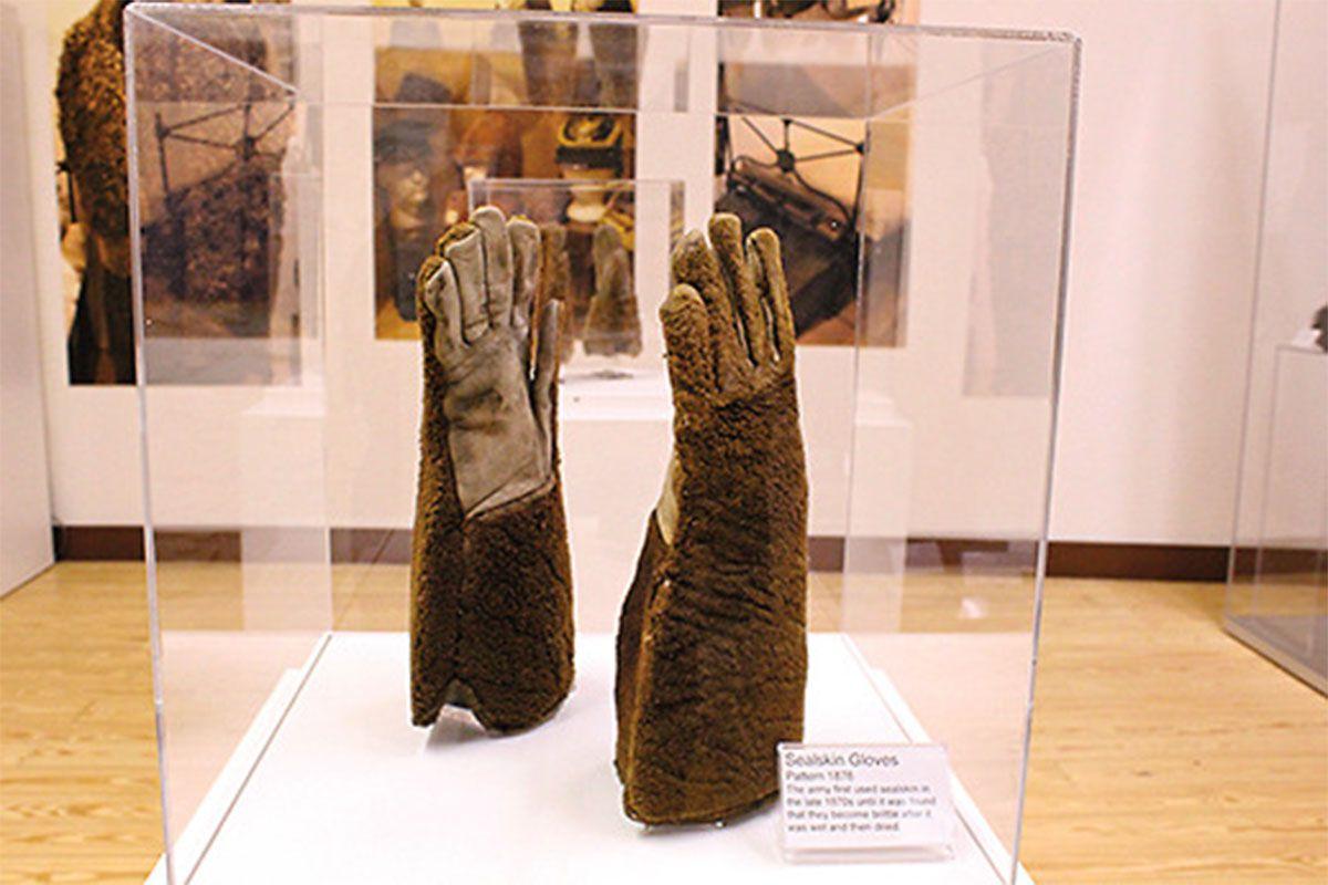 army sealskin gloves 1870s true west magazine
