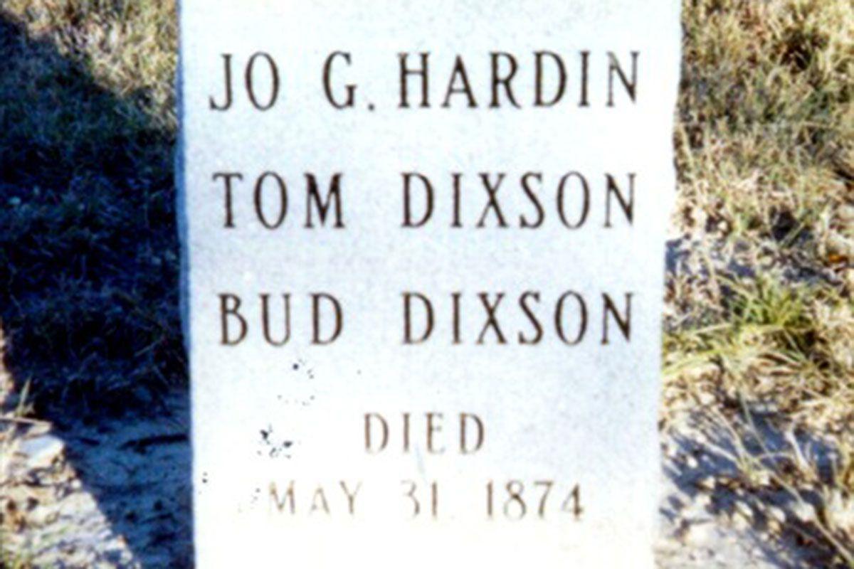 hardin and dixon grave true west magazine