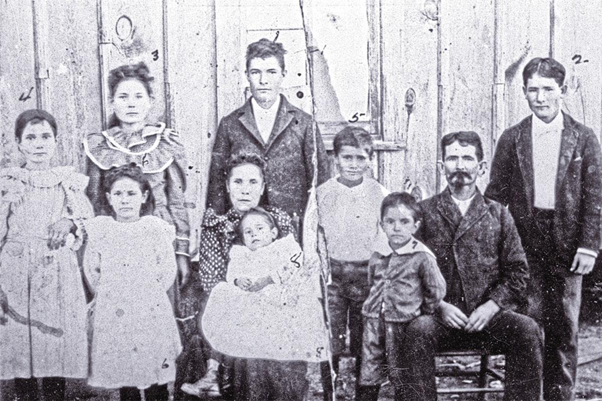 doc scurlock and family true west magazine