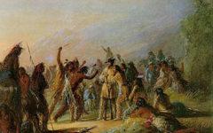 rendezvous mountain men fur trappers painting true west magazine