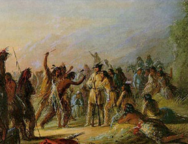 rendezvous mountain men fur trappers painting true west magazine