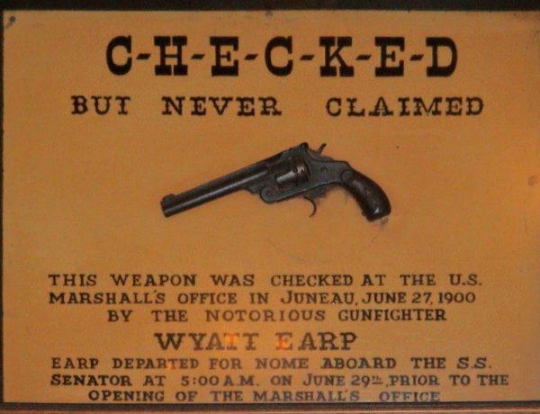 wyatt earp gun true west magazine