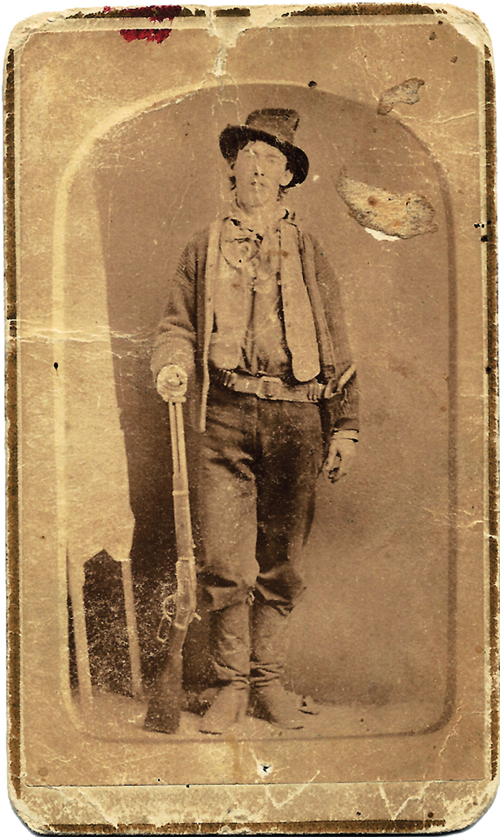 billy the kid tintype true west magazine