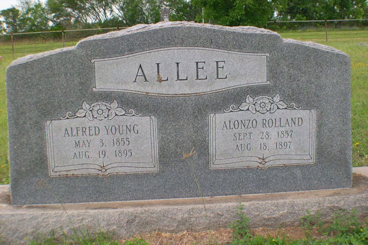 alfred allee grave site true west magazine