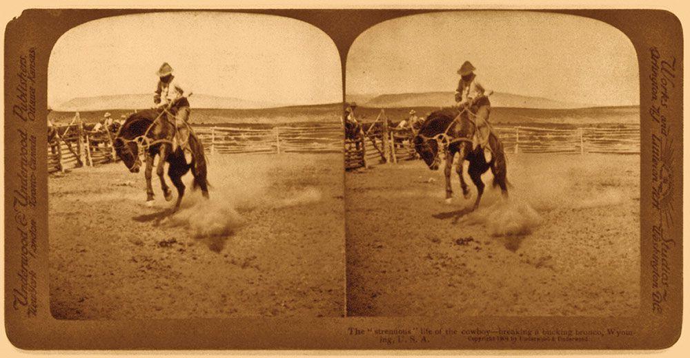 bronc rider jackson hole wyoming true west magazine