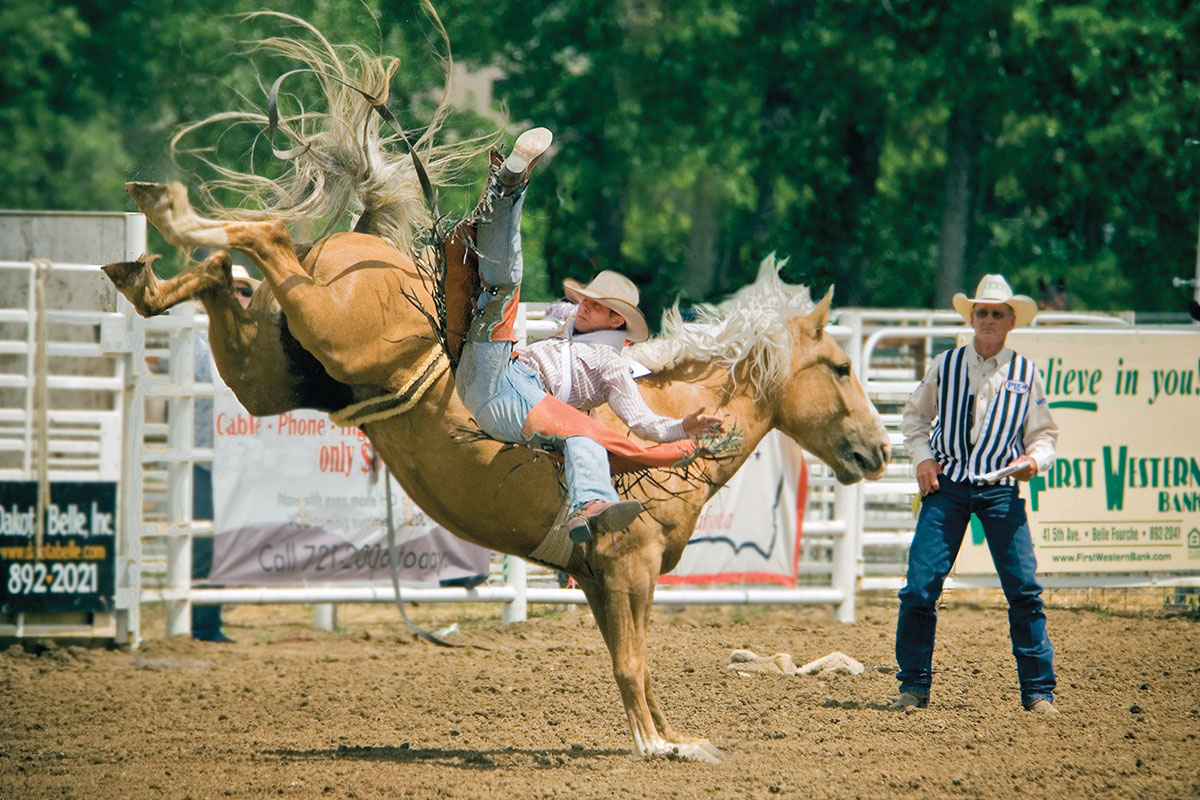 belle fourche black hills rodeo true west magazine